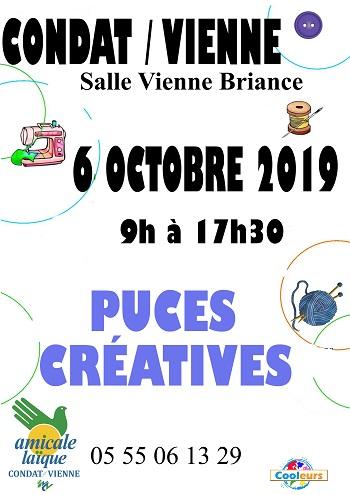 Puces Créatives de Condat/Vienne