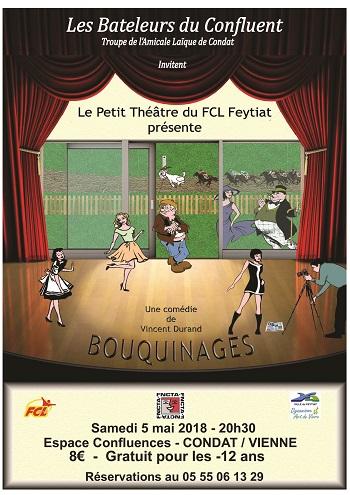 Les Bateleurs du Confluent invitent la troupe de FCL Feytiat