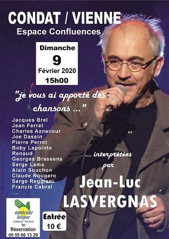 APRES-MIDI CONCERT AVEC Jean-Luc LASVERGNAS