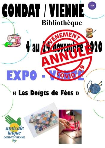 """EXPO-VENTE des sections """"Couture"""" de l'AL Condat"""