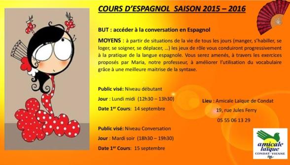 COURS D'ESPAGNOL : Présentations