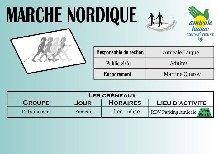 Calendrier Marche Nordique 2020.Marche Nordique