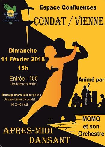 APRES-MIDI DANSANT AVEC L'AL CONDAT