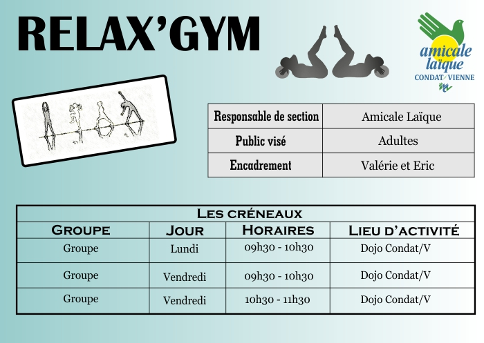 RELAX'GYM