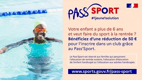 Nouveau : le Pass'Sport