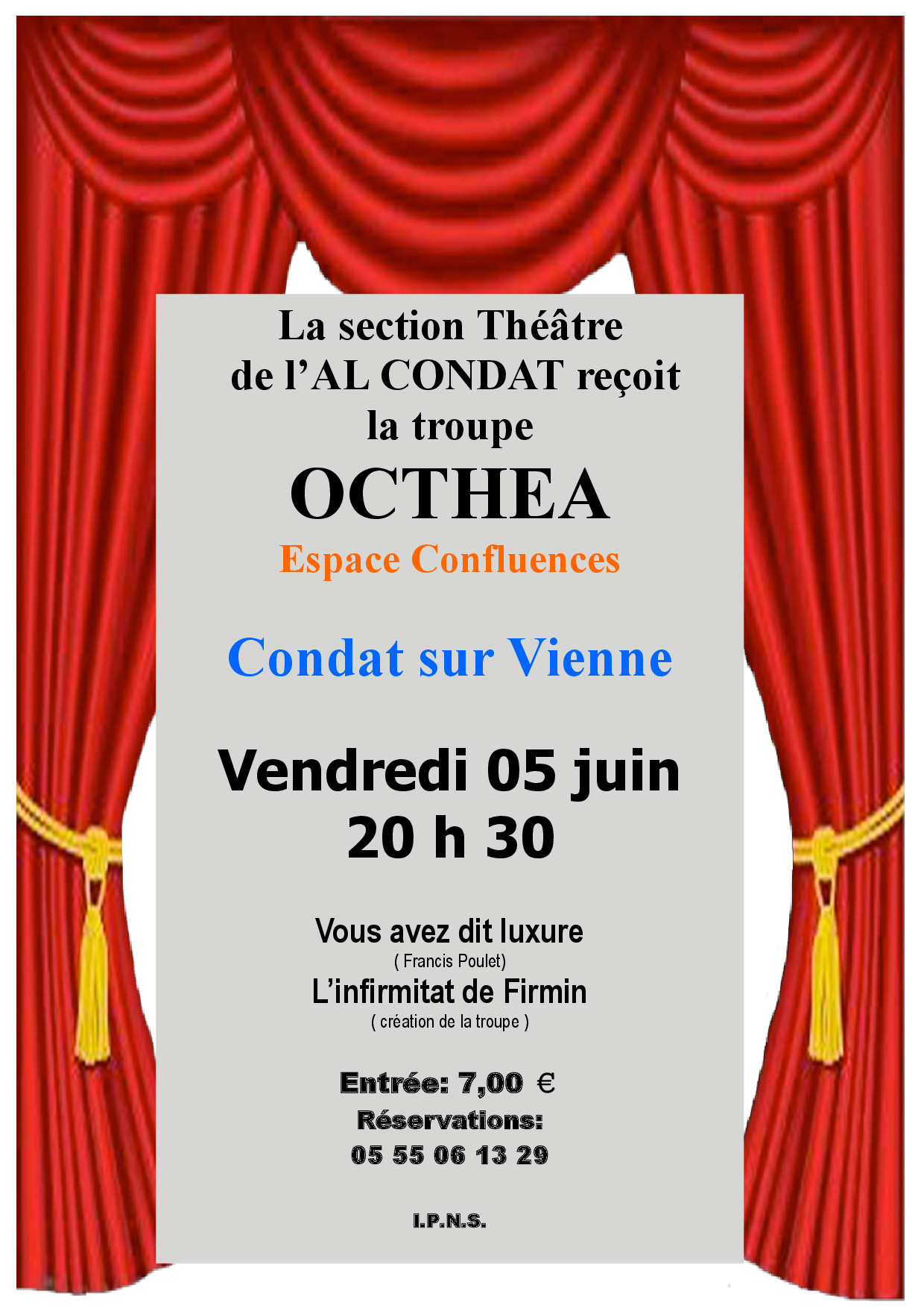 "L'AMICALE RECOIT ""OCTHEA"""